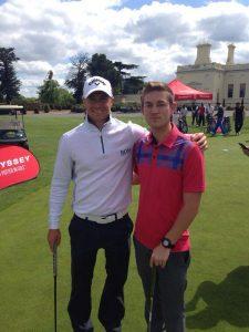 Tom Palmer with Alex Noren