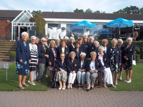 Ladies section past captains salver