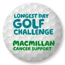 Longest day golf logo